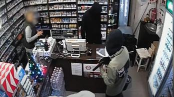 Fegyveres rablókat keresnek a rendőrök - VIDEÓVAL