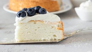 Hallottál már az Angel food cake-ről? Mutatjuk, milyen egyszerű elkészíteni