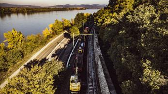 Novembertől helyreáll a vonatközlekedés a Dunakanyarban