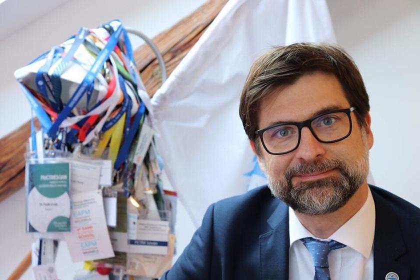 Dr. Peták István, az Oncompass Medicine tudományos igazgatója.