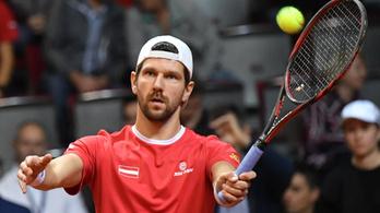 Visszavonul a háromszoros GS-tornagyőztes osztrák teniszező