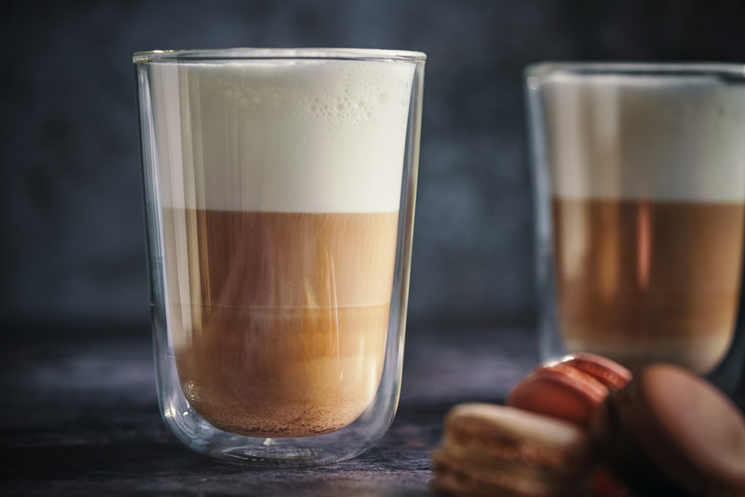 Forró, gesztenyés latte sok tejhabbal: így készítsd el otthon a kávézói kedvencet
