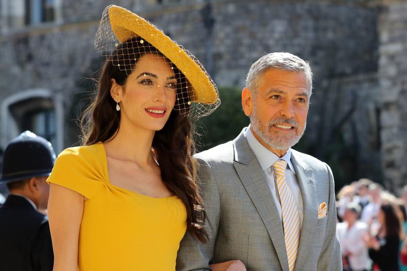 George és Amal Clooney-ról meglepő dolog derült ki: Diana hercegnő barátnője kotyogta ki