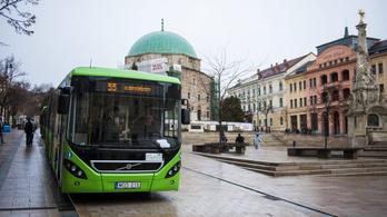 Nyolcszázmillió forintból javult Pécs közlekedése