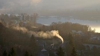 Itt a fűtési szezon, helyenként romlik a levegőminőség