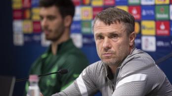 Rebrov: Kompetitív futballt és maximális koncentrációt várok a játékosoktól