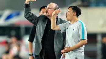 A Kínában dolgozó Benítez szerint a helyiek nem értik a futballt