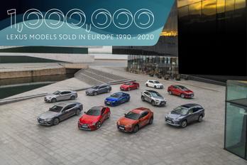 Egymillió autót adott el a Lexus Európában