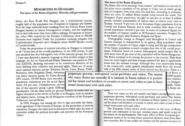Részlet Jeszenszky Géza egyetemi jegyzetéből
