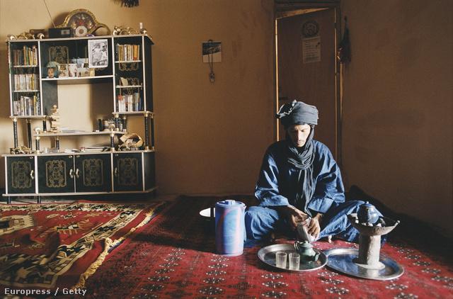 Letelepedett tuareg