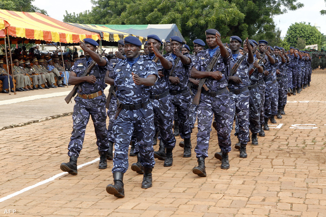 Kormánycsapatok Bamakoban