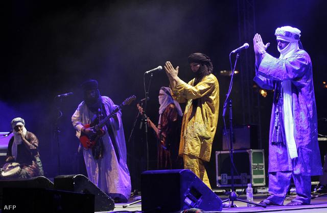 Mali leghíresebb tuareg együttese a Budapesten is többször megfordult Tinariwen.