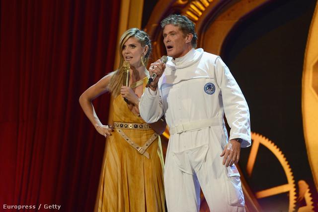 Heidi Klum és David Hasselhoff