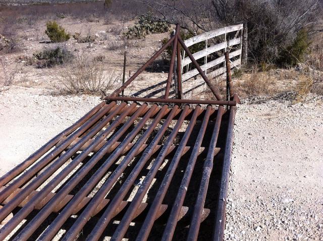 Egy texasi kapu valahol Texasban