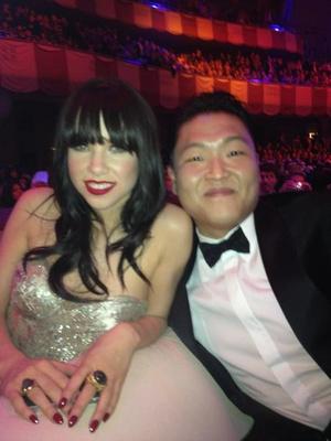 Carly Rae Jepsen és Psy