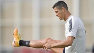 Továbbra is kérdéses C. Ronaldo szereplése a Barcelona ellen