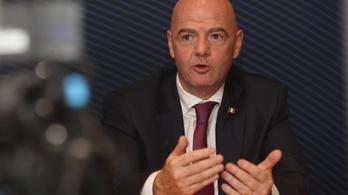 Pozitív lett Gianni Infantino FIFA-elnök koronavírustesztje