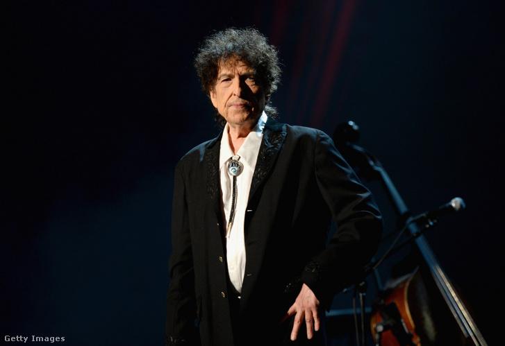 Bob Dylan Los Angelesben 2015 február 6-án