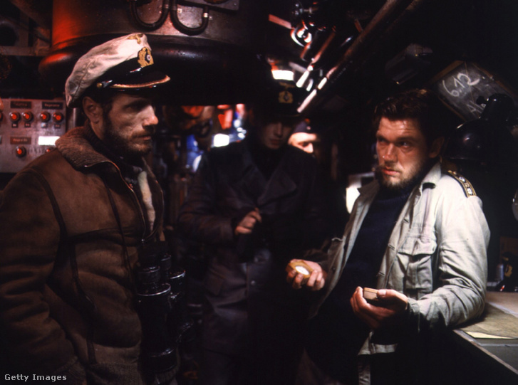 Jürgen Prochnow és Bert Tauber A tengeralattjáróban