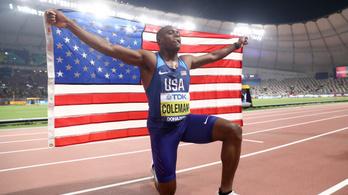 Eltiltást kapott, nem indulhat az olimpián a férfi 100 méteres síkfutás világbajnoka!