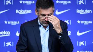 Lemondott a Barcelona elnöke, Josep Bartomeu