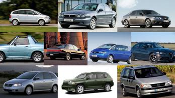 10 nagy bukás az autóiparból