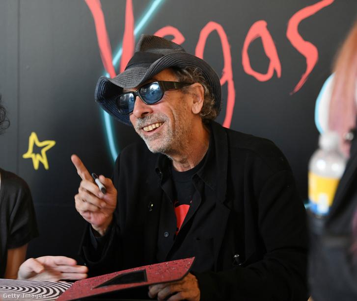 Tim Burton Las Vegasban 2019 október 15-én