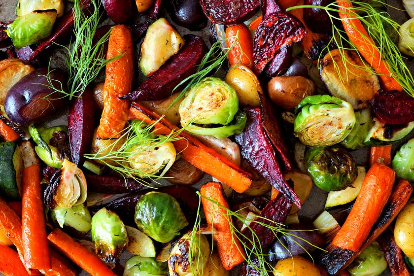 A kelbimbó 100 grammjában csupán 41 kcal található. Magas a rosttartalma, és a zöldségekhez képest gazdag proteinben, 3,4 gramm fehérje található benne. A sárgarépa és a cékla is szinte ugyanennyi kalóriát tartalmaz, sütőben sütve, ebédre fogyasztva egy szelet csirkemell mellé egészen estig eltelít.