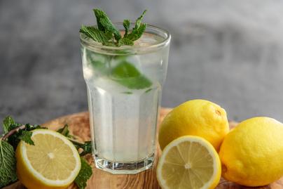 citromos víz limonádé frissítő (1)