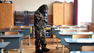 Az őszi szünetben fertőtlenítik az iskolákat