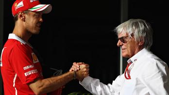 Ecclestone: Volt szerepem Vettel jövőjének alakulásában