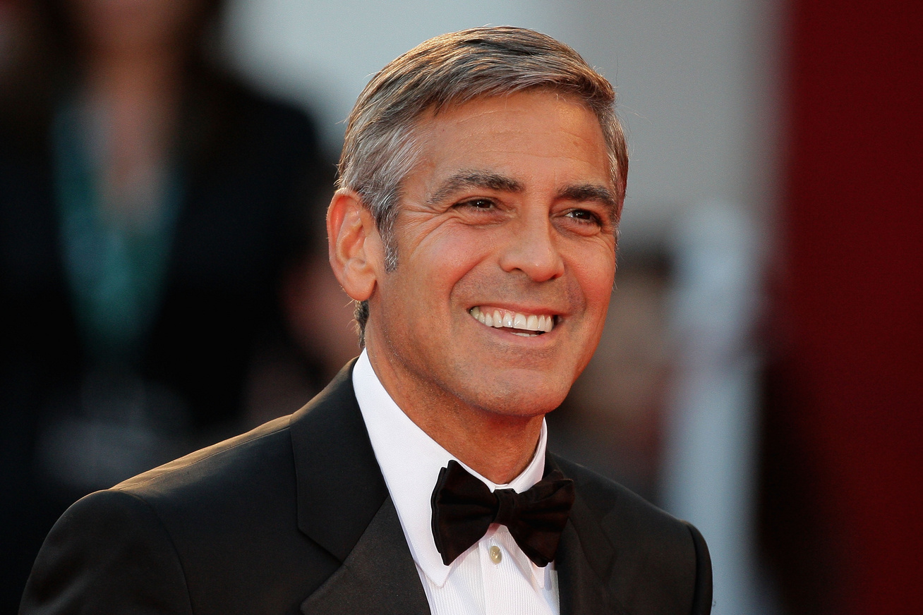 george clooney cover