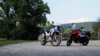 Összehasonlító: Honda CRF1100L Africa Twin Adventure Sports vs. Suzuki V-Strom 1050 XT