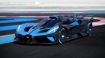 Bolide: elmebeteg Bugatti, csak úgy