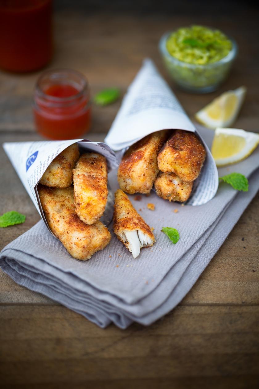 fish and chips álló belső