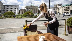 Részlegesen lezárják Németországot, hétfőtől teljesen leáll a vendéglátóipar és a kulturális szektor