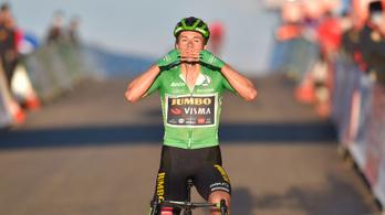 Vuelta: nagy csatában nyerte a 8. szakaszt a címvédő, csökkentette hátrányát
