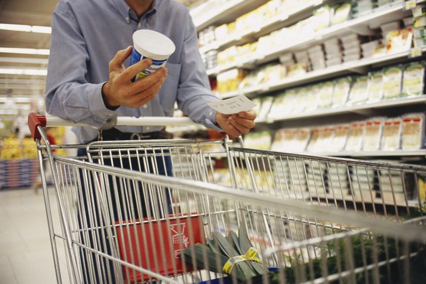 élelmiszer vásárlás belső