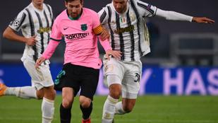 Három gólt vett el a VAR a Barcelonától kikapó Juventustól