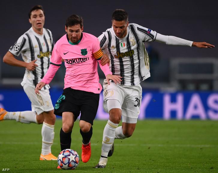Lionel Messi főszereplő volt a Juventus elleni meccsen is