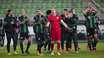 Dibusz Dénes: Ha pár perccel tovább tart a meccs, meg is nyerhettük volna