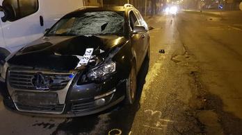 Illegális autóverseny áldozata lehetett Ózdon egy vétlen gyalogos