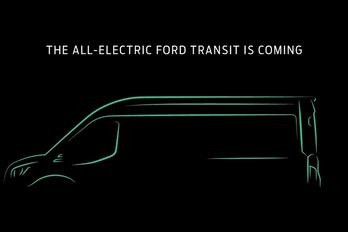 Még az idén jön az elektromos Ford Transit