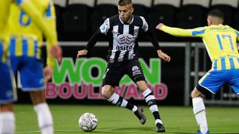 Megszerezte első gólját holland klubjában a magyar válogatott kerettag csatár