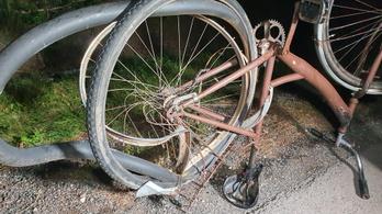 Kerékpárját toló gyalogost gázoltak halálra Bábolnán