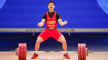 10 hónap szünet után sorra dőlnek meg a súlyemelés világcsúcsai Kínában