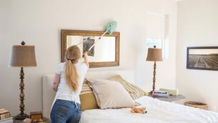 Neked is állandóan porosnak tűnik a hálószobád?