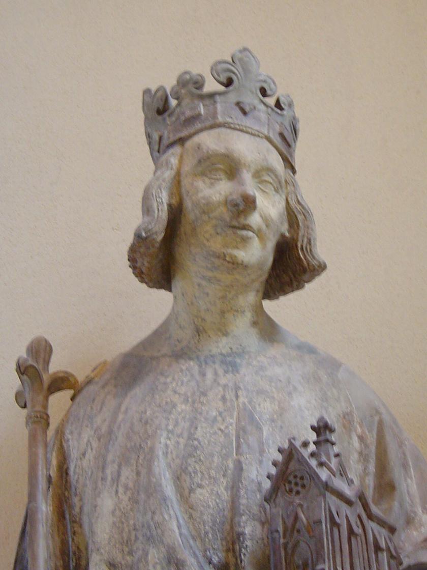 V. Károly szobra, ismeretlen alkotótól.