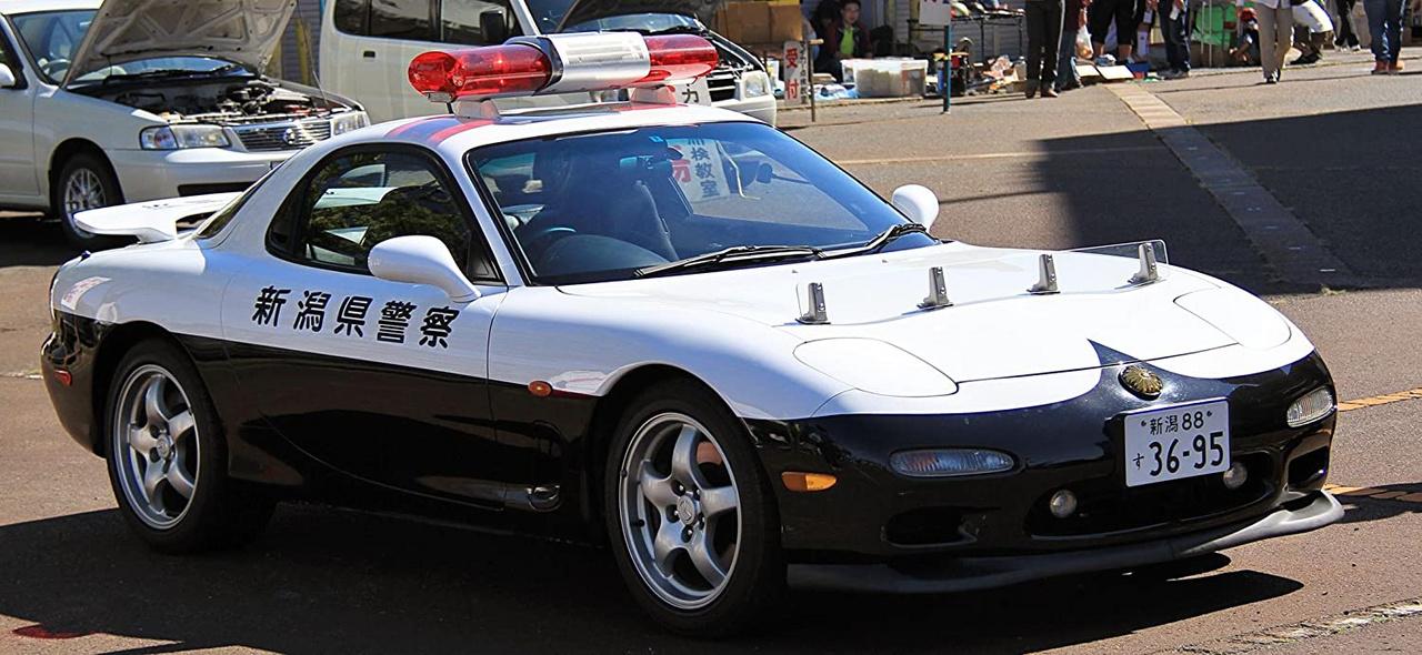A harmadik generációs Mazda RX-7-et a japán rendőrség eredetileg csak kiállításokon mutogatta, és nem is szántak neki többet, de állítólag ezt is többször bevetették élesben.