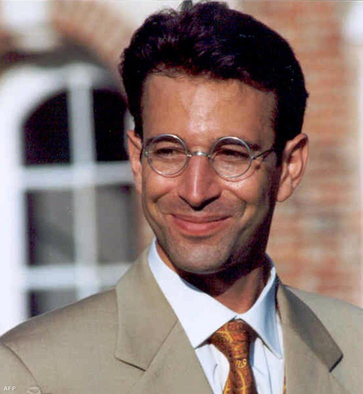 Daniel Pearl újságíró, akivel 2002-ben terroristák végeztek